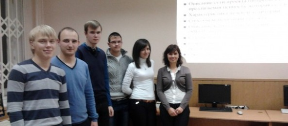 Training on start-up projects business-planning for students of Kharkiv National University of Economics
