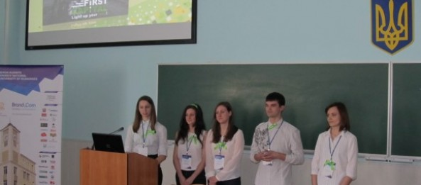Portal of start-center «First Capital» was presented at the VIII International Student Competition of Advertising and PR-projects «Golden Compass»