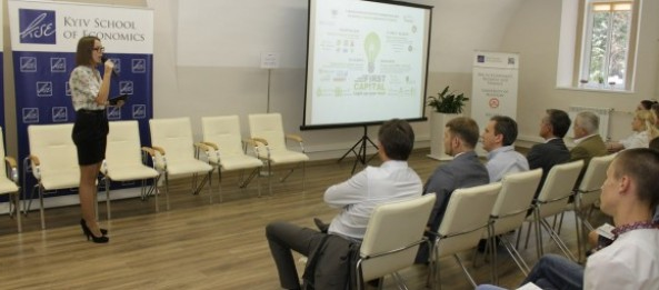 Projects of start-center FIRST CAPITAL were presented to the Minister of Economic Development and Trade of Ukraine Pavlo Sheremeta