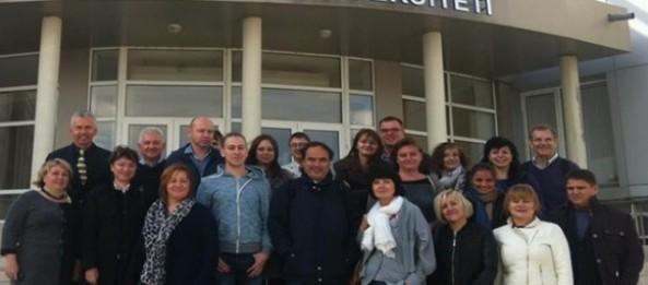 The TEMPUS-SUCSID meeting project was held at Academy of Economic Studies of Moldova and Comrat State University (Cishinau, Comrat, Republic of Moldova)