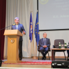 EU Commissioner within the frameworks of the official visit to Kharkiv visited S.Kuznets KhNUE