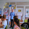 Summer School on entrepreneurship for senior pupils «First Capital junior» in Simon Kuznets KhNUE