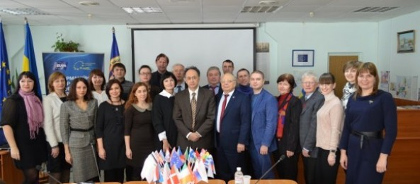 EU Ambassador in Ukraine Mr. Hugues MINGARELLI visited S. Kuznets KhNUE