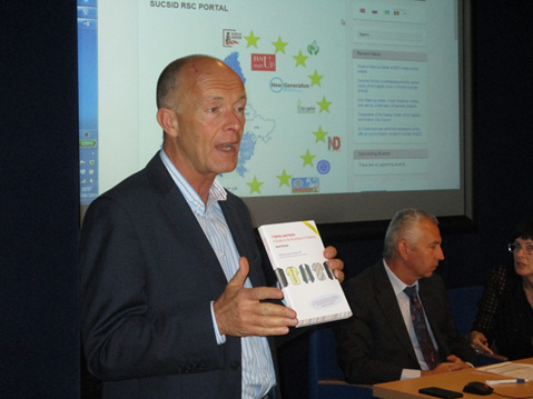 Speech of David Parrish, British business consultant in the field of the creative economy